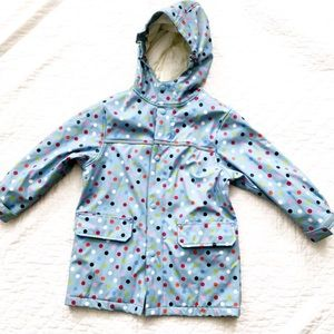 Land's End Raincoat WaterProof Jacket Coat